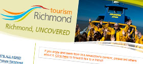 Tourism Richmond newsletter